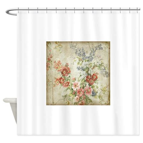 Vintage Floral Shower Curtains Beautiful Vintage Floral Shower Curtain By Yourperfecthome