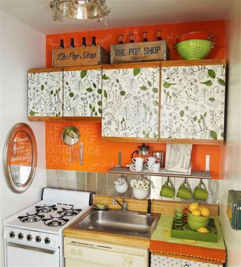 small kitchen decorating ideas decobizz com dale vida a tu cocina con el color naranja