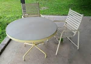 Brown Jordan Patio Furniture by Vintage Thinline Amp Brown Jordan Patio Set 2 Chairs