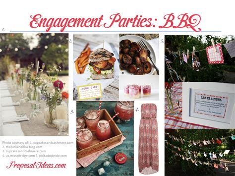 backyard engagement party ideas engagement parties bbq proposal ideas blog