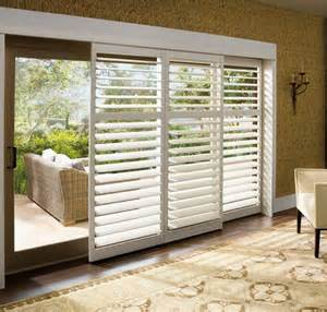 Patio Doors With Blinds Wooden Patio Door Blinds Wood Vertical Blinds