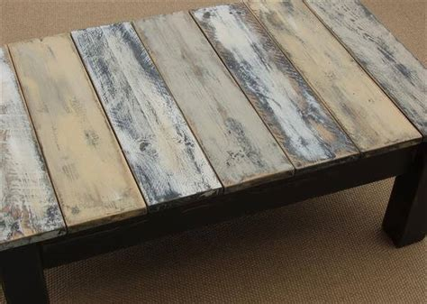 chalk paint pallet diy antique pallet coffee table makeover