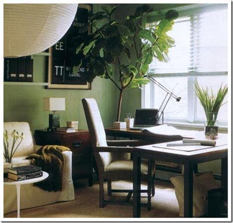 como decorar una oficina integrada a la sala de estar o al como decorar interiores con plantas naturales los