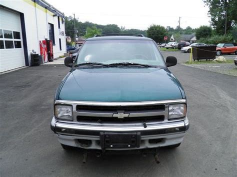 1997 Chevrolet Blazer Parts Sell Used 1997 Chevrolet Blazer 4wd Auto Parts Or