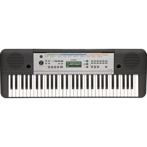 Keyboard Yamaha 4 Jutaan yamaha ypt 255 61 key portable keyboard at gear4music