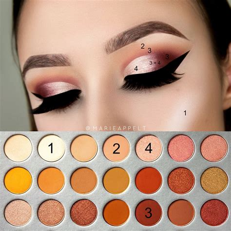 Morphe The Hill Palette morphe x hill palette pictorial makeup tutorial