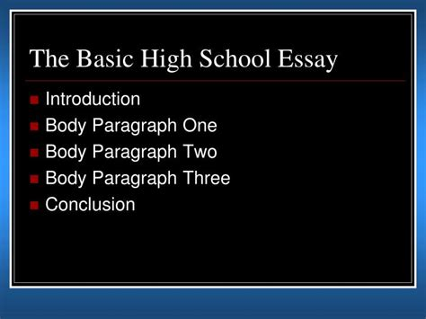 5 Paragraph Essay Powerpoint by Ppt How To Write A Five Paragraph Essay Powerpoint Presentation Id 1076868