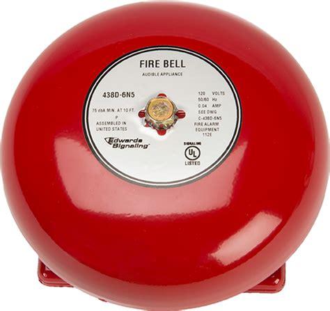 Bell Alarm Kebakaran edwards signaling alarm bells 323d 430d series