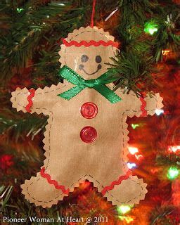 gingerbread ornament out of brown paper 27 best images about gingerbread house on play houses grocery bags and gingerbread