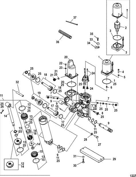 mercury optimax parts diagram mercury marine 250 hp pro xs 3 0l dfi power trim