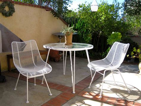 patio furniture white white wrought iron patio furniture icamblog
