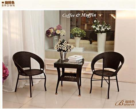 tea table set aliexpress com buy freeshipping pe rattan tea table set