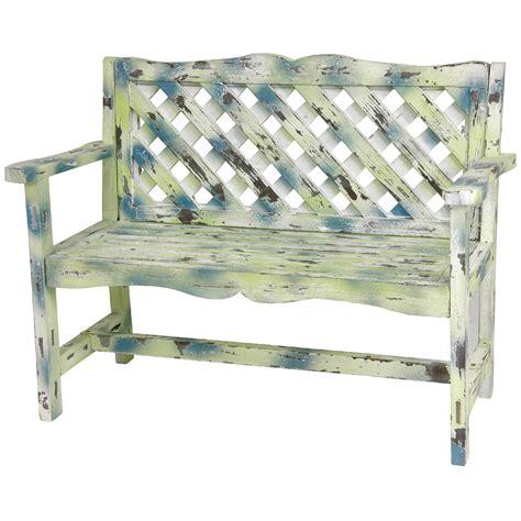 lattice bench 25 amazing garden benches