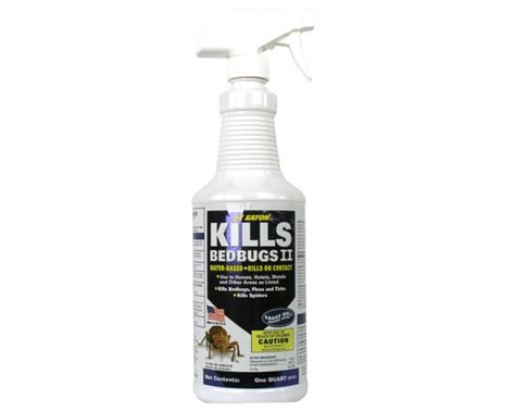 flea spray kill bed bugs
