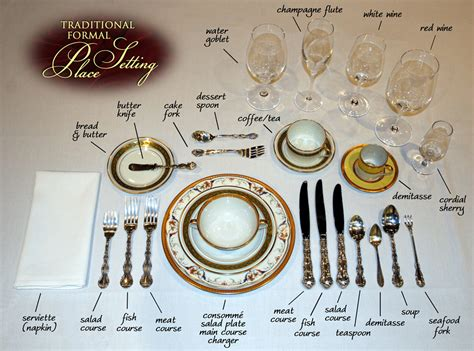formal dinner table setting formal dining archives ask chef christy