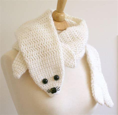 crochet animal scarf1 100 unique crochet scarves