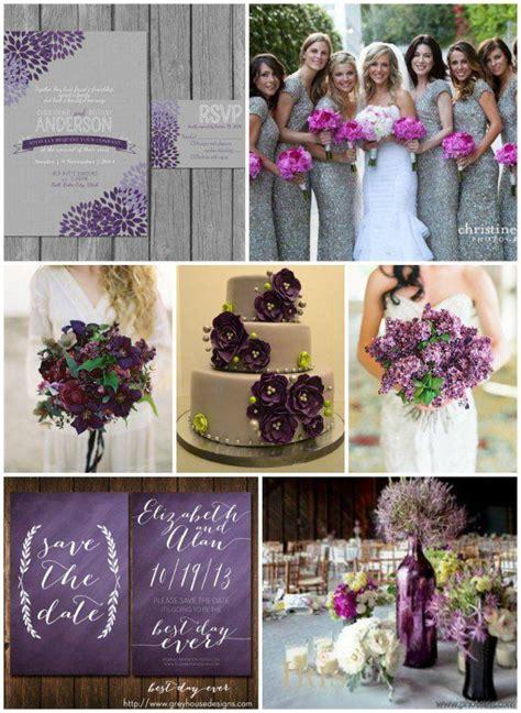 purple gray wedding ideas purple wedding theme