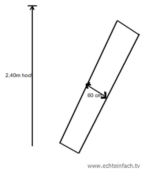 schrank 240 cm hoch wie hoch darf ein schrank maximal sein der beim