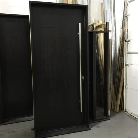 modern exterior door made and installed by modern doors