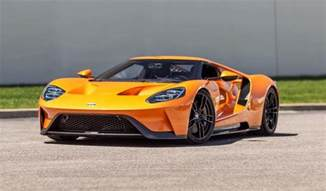 Ford Gt Delivery Of A One Arancio Borealis Brand New Ford Gt