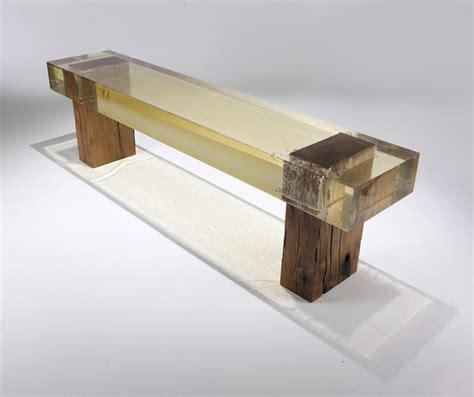 wood fossil bench 1 fubiz media