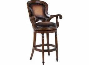 leather bar stools with backs and arms wood swivel bar stools with arms foter
