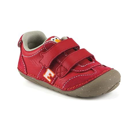 elmo shoes new stride rite srt soft motion sesame elmo shoes