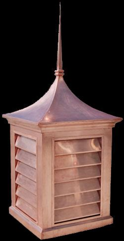 la cupola ledusa copper cupola custom design with copper roof finial cone