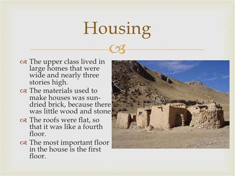 Different Style Of Houses daily life in mesopotamia