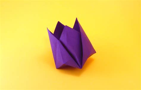 Origami Tulip Flower - origami flowers by michael g lafosse and richard l