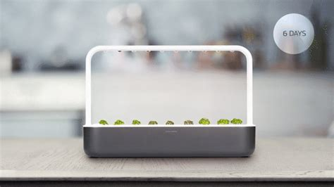 the smart garden 为了种菜也是拼了 这款智能花园把土壤也做成了智能 设计癖