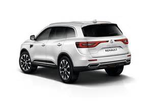 Renault Koleos Suv New Renault Koleos Suv Unveiled At Auto China 2016