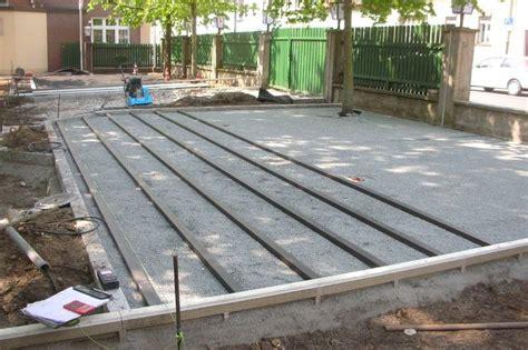 Kunstholz Terrasse by Wpc Holzterrasse Bauanleitung Unterbau Einer Wpc Terrasse