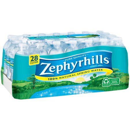 zephyrhills spring water ltr pack   walmartcom
