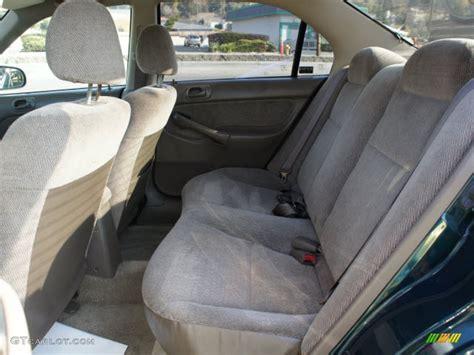 1996 Honda Civic Interior by Gray Interior 1996 Honda Civic Lx Sedan Photo 57821052