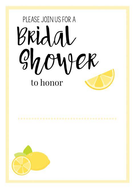 lemon themed wedding invitations lemon themed shower invitations printables squared