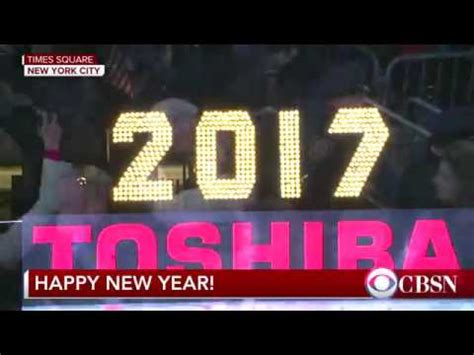 Watch Drop 2009 2017 New Year S Ball Drop In Times Square Hd Ball Drop Shown Youtube