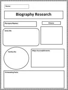 free biography templates biography templates free word pdf documents creative