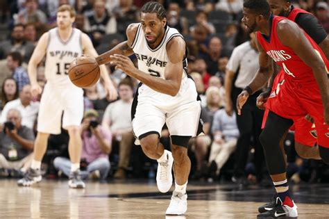 Kawhi Leonard House by Spurs Pass 95 96 Bulls For Best Home Start In Nba History
