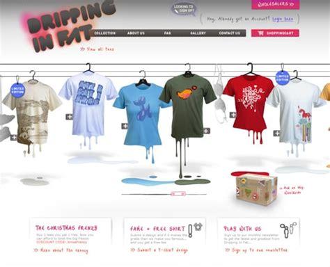 design a shirt site website design 30 beautifully designed t shirt sites