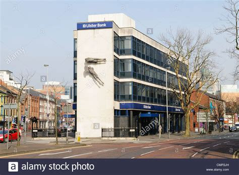 lster bank ulster bank shaftesbury square belfast stock photo
