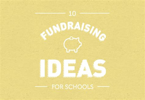 ideas for school 10 fundraising ideas for schools