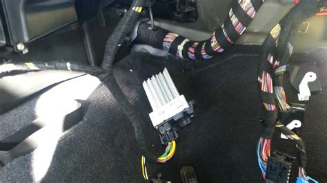bmw    final stage resistor blower motor removal