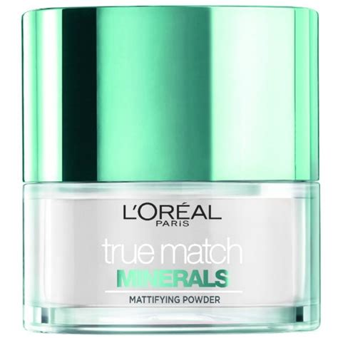 Loreal True Match Powder Foundation l oreal cosmetics true match minerals mattifying powder 10 gr