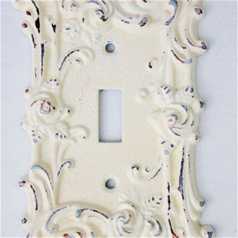 shabby chic switch plate covers best shabby chic light switch covers products on wanelo