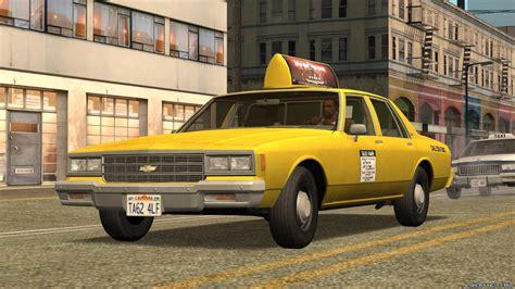 chevy impala taxi chevrolet impala taxi 1985 для gta san andreas