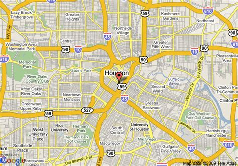 houston map get directions houston map