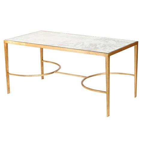 regency gold antique mirror coffee table