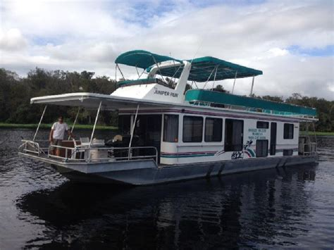 rent house boat st john s river houseboats rentals