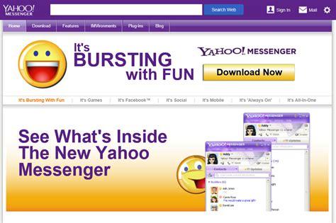 How To Find On Yahoo Messenger Yahoo Messenger Design Bild